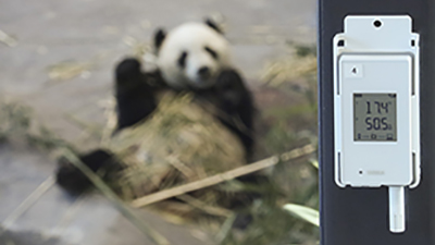 Vaisala Wireless data logger in Panda Enclosure