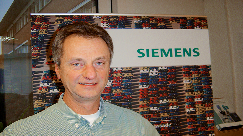 Ivar Bergdahl from Siemens Sweden