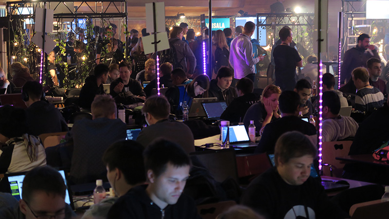 The atmosphere at Junction hackathon was great also this year.