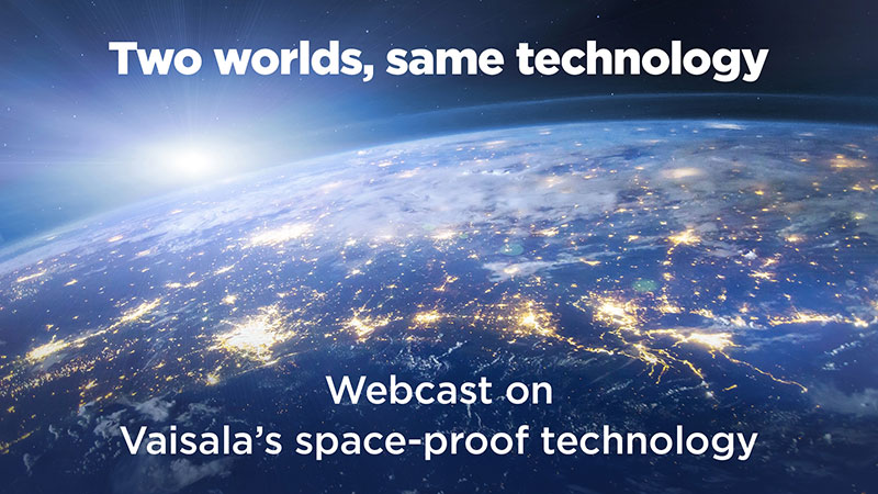 Space proof technology webcast recording