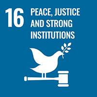 SDG 16 Strong institutions