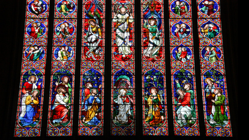 Glass Preservation in St. Patrick's Cathedral, New York