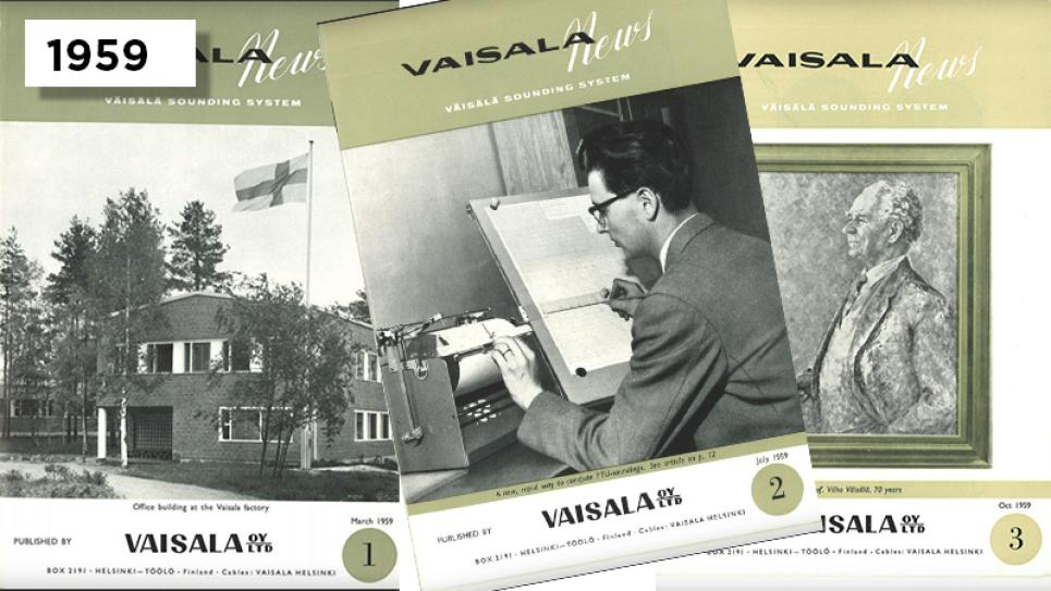 Vaisala News customer magazine is published for the first time