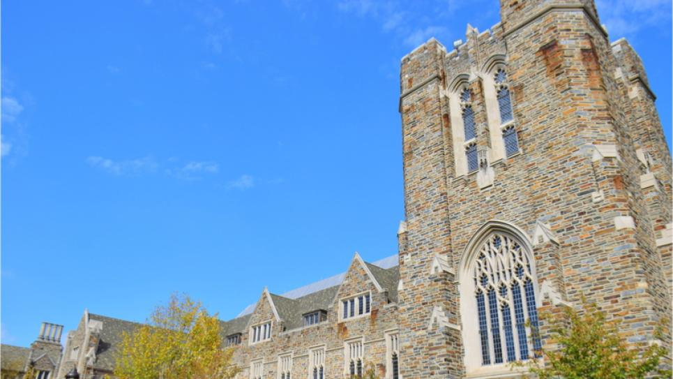 Duke University Building in North Carolina
