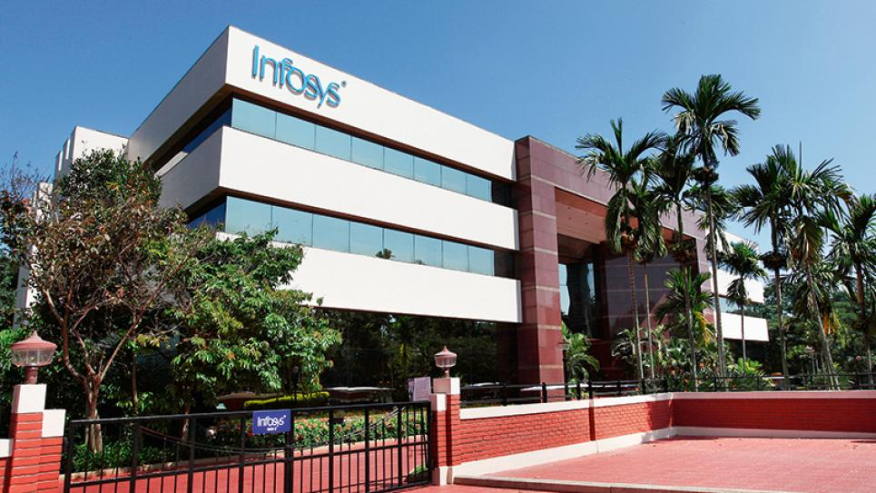 Infosys Head Office in Bengaluru, India. Photo courtesy of Infosys.