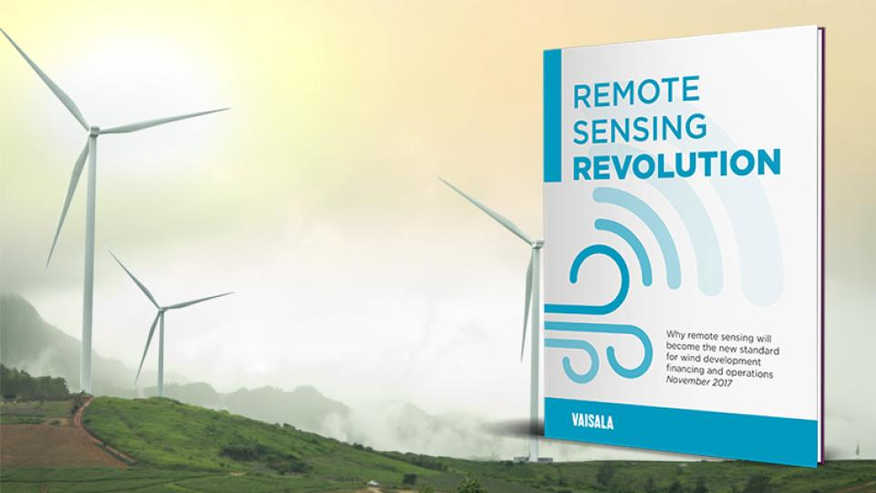 Remote Sensing Revolution - wind industry briefing available from Vaisala