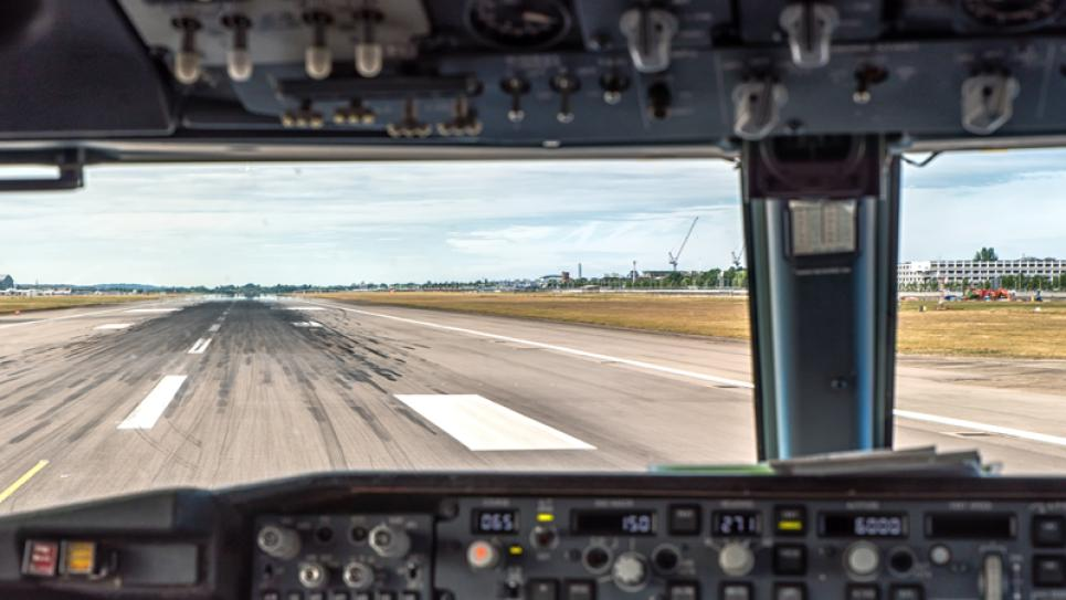 Runway from Cockpit