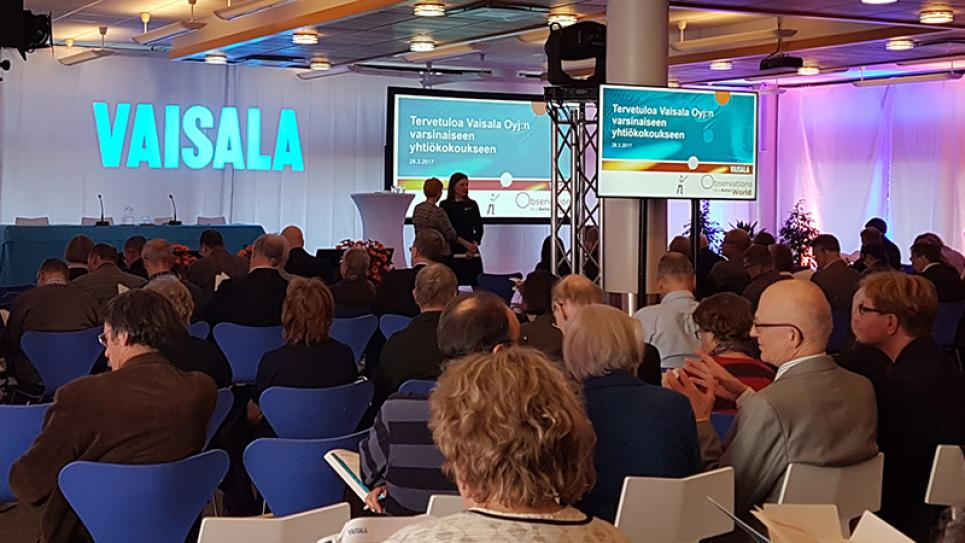 Vaisala General Meeting 2017