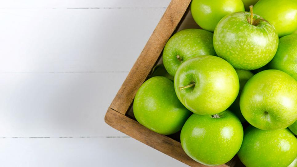 Apples in a box - Maintaining Harvest Fresh Apples