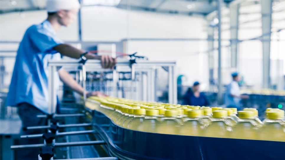Beverage Bottling Process with CO2 Monitoring|Vaisala