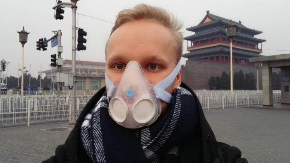 Giant leap Intern Antti Järvinen in Beijing, China