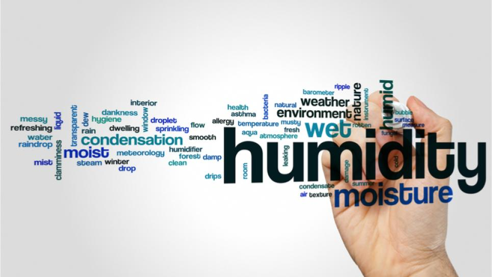 Word cloud - humidity