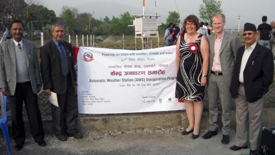 An inaugural session of the weather station was arranged in Pokhara on World Meteorological Day on 22nd March in 2012