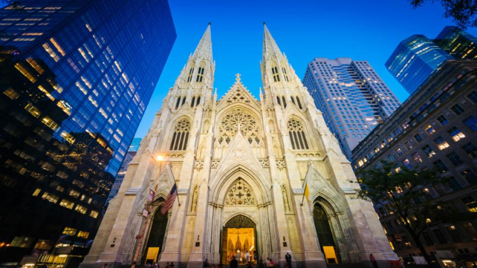 Stained Glass Preservation in St. Patrick's Cathedral, New York