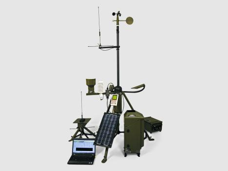 Vaisala TacMet® Tactical Meteorological Observation System MAWS201M