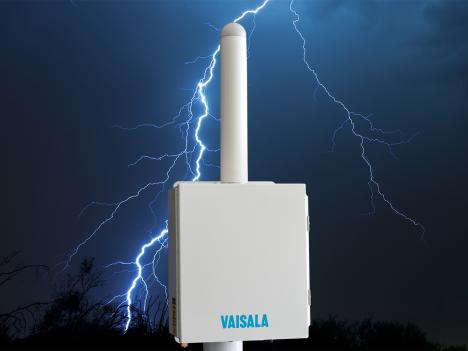 Vaisala Thunderstorm Local Lightning Sensor TSS928