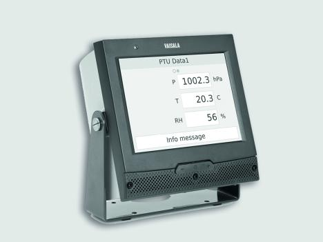 Vaisala AviMet® Data Panel Display WID512