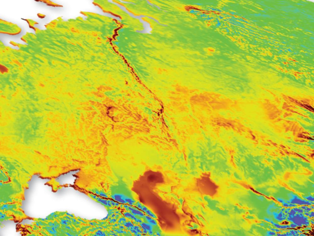 Global Wind Map - Wind Maps and GIS Layers