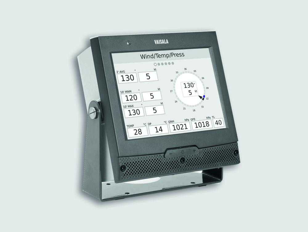 Vaisala AviMet® Weather Panel Display WID513