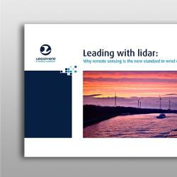 Cover image of Leosphere leading with lidar eBook