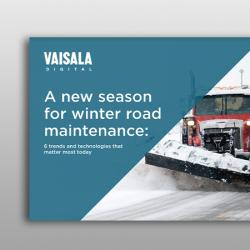 Cover image of Vaisala Winter Road Maintenance eBook