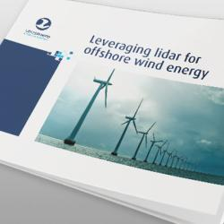 Cover image of Leosphere leveraging lidar for offshore wind energy eBook